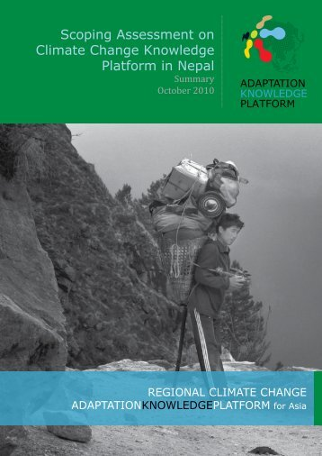 Scoping Assessment on Climate Change Adaptation in Nepal