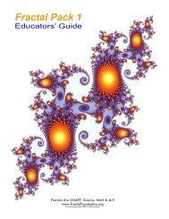 Fractal Pack- educator's guide - Spitz