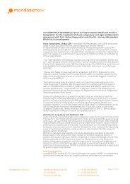 Page 1 mondoBIOTECH (SIX:RARE) acquires European  Orphan ...