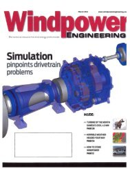 March Wind Energy Article - Holmes Murphy