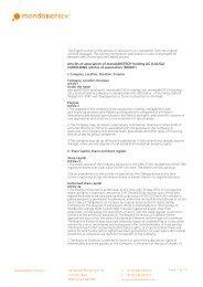 Download pdf - Mondobiotech