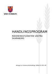 Räddningstjänsten - handlingsprogram.pdf - Vara kommun