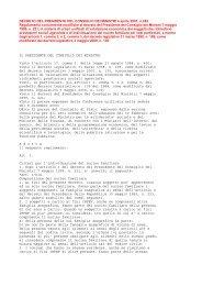 D.P.C.M 242/2001 - Comune di Montale