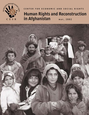 Afghanistan Report.. - Kabul Reconstructions