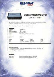 WORKSTATION MONITOR 61-200-6182 - Sinerji Grup