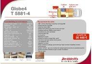 Globe4 T 5881-4 - Vacances & Loisirs