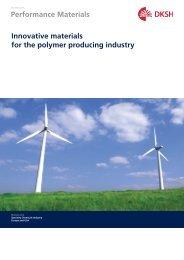 Polymer Producing Industry Brochure - DKSH Great Britain