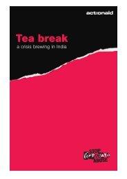 Tea break - ActionAid