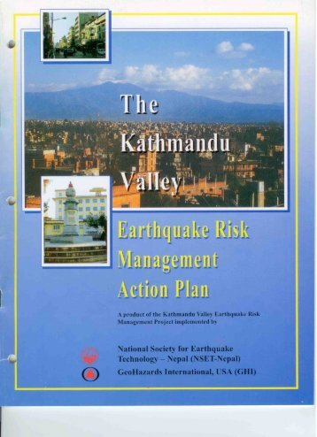 Kathmandu Valley Earthquake Risk Management Action Plan