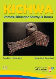 Yachakukkunapa Shimiyuk Kamu - Ministerio de Educación