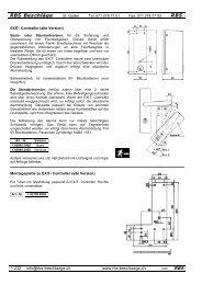 Exit-Controller - Rbs-beschlaege.ch