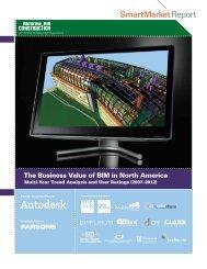 Business Value of BIM in North America (2007-2012) - Autodesk