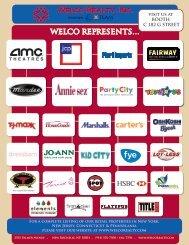 Tenant logos 2012 Vegas - Welco Realty, Inc