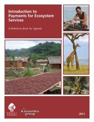 Introduction to Payments for Ecosystem Services - the Katoomba ...