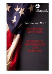 maritime matters emergency preparedness and response
