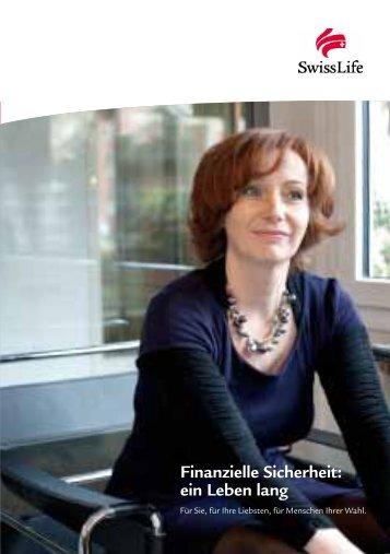 Finanzielle Sicherheit: ein Leben lang - Swiss Life
