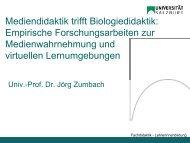 Studie 3: Die Mendel´schen Vererbungsregeln - AECC-Bio