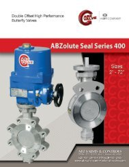 ABZolute Seal Series 400 - Temp-Press Inc