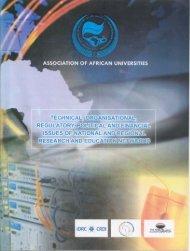 Untitled - AAU Resource Center - Association of African Universities