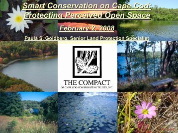 The Perceived Open Space Project - The Compact of Cape Cod ...