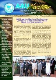 AAU NEWS LETTER Feb. 2011.Final.cdr - AAU Resource Center