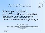 """Leitfadens """"Inspektion, Bewertung und Sanierung von ..."""