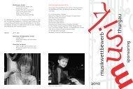 sponsoring 2o10 - Musikschulen Thurgau