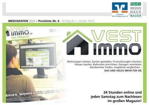 PDF: Vestimmo Preisliste 2013 - Recklinghaeuser Zeitung