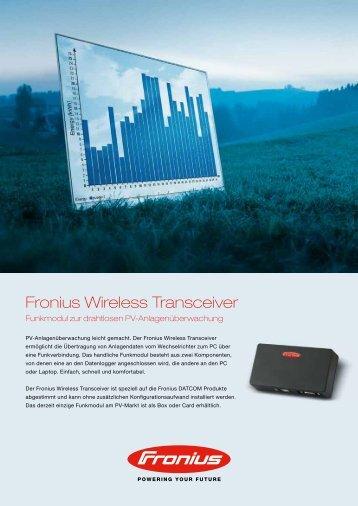 Fronius Wireless Transceiver
