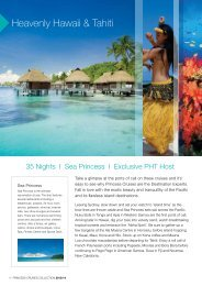 Heavenly Hawaii & Tahiti - Phil Hoffmann Travel