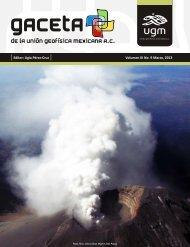 Ligia Pérez-Cruz Volumen III No. 9 Marzo, 2013 - Unión Geofisica ...