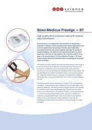 Boso-Medicus Prestige + BT - Corscience GmbH & Co. KG