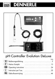 Dennerle pH-Controller Evolution-Deluxe.pdf - Aquaristik-Zentrum ...