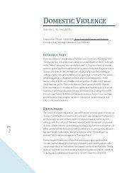 Domestic Violence. In O'Brien, J. (Ed) - The Sanctuary Model