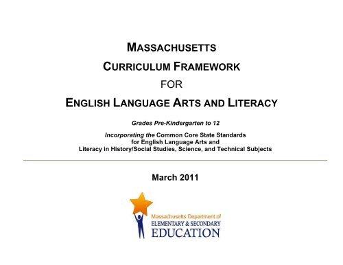 Massachusetts Curriculum Framework For English Language Arts