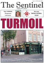 Disgruntled customers of O'Donnell's Irish pub, on ... - The Sentinel