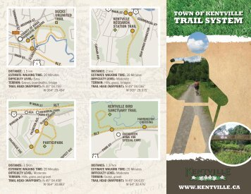 Trail SySTem - The Town of Kentville