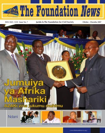 Jumuiya ya Afrika - The Foundation for Civil Society