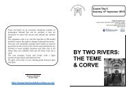 By Two Rivers: The Teme & Corve - The Diocese of Hereford
