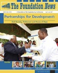 Partnerships for Development: - The Foundation for Civil Society