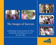 The Images of Success - The Foundation for Civil Society