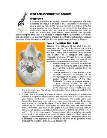 Anatomy of the Atlas Subluxation - Up C Spine