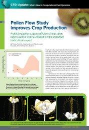 Pollen Flow Study Improves Crop Production