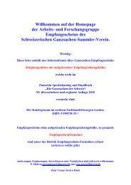 Formular Nr. 2 - Schweizerischer Ganzsachen-Sammler-Verein