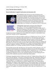 Zwei Titel für Katrin Schuler - Skiclub Hinterzarten