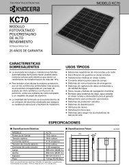 KC70 - KYOCERA Solar