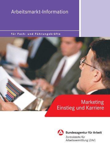 Marketing Einstieg und Karriere