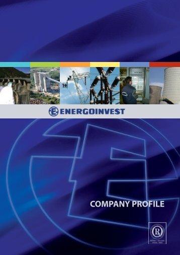 COMPANY PROFILE - energoinvest