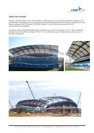 Stadion Faro-Loulé - Sattler AG