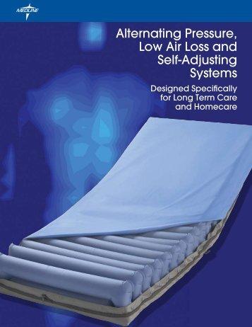 alternating pressure low air loss and biorelief